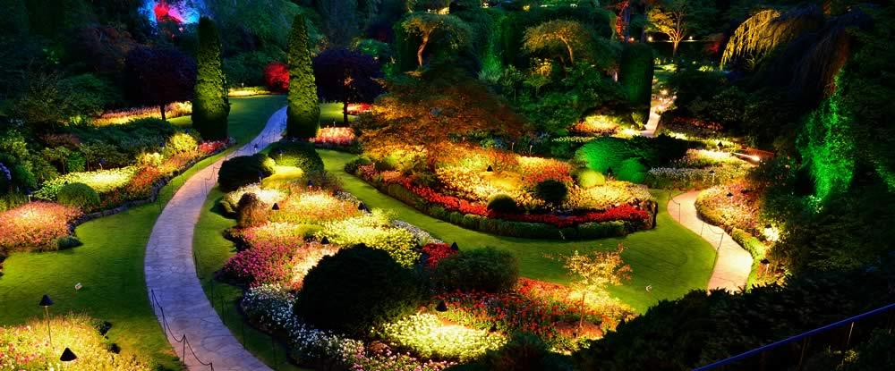 Five Benefits of Savvy Lighting for Garden